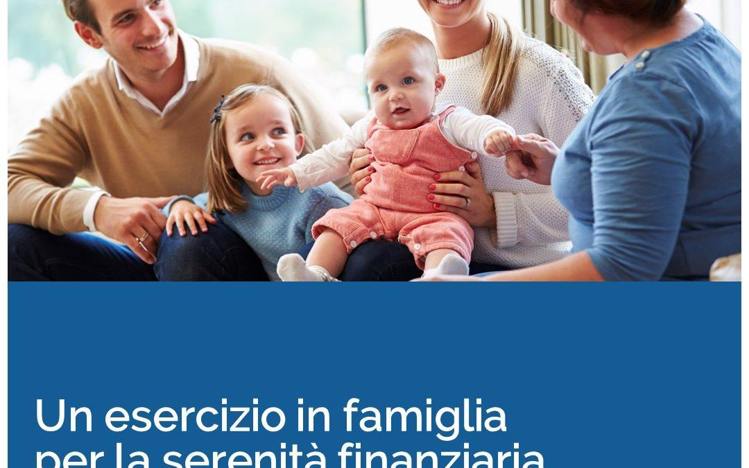 Un esercizio in famiglia per la serenità finanziaria