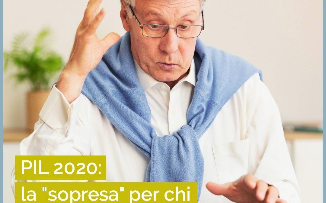 PIL 2020 e la sorpresa per chi va in pensione